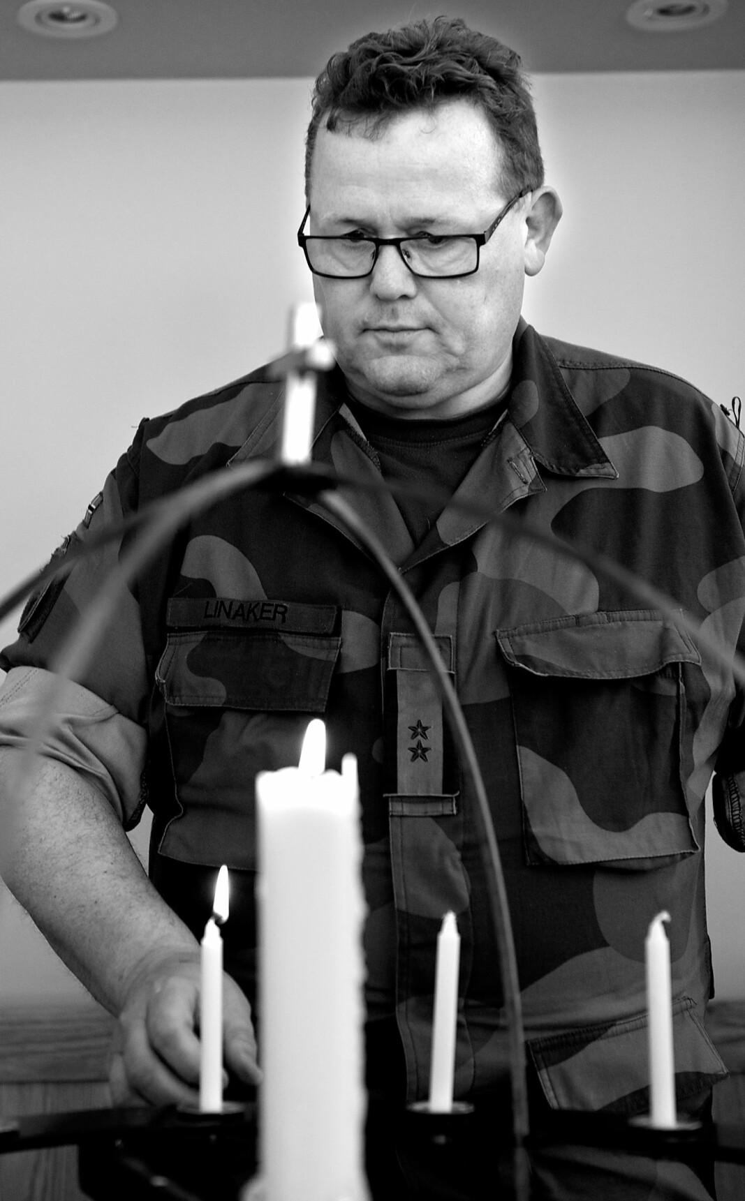 Roald Linaker mistet sønnen sin i Utøya-tragedien.