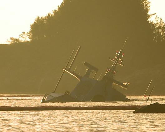 Tre fregatter blir liggende til kai i januar