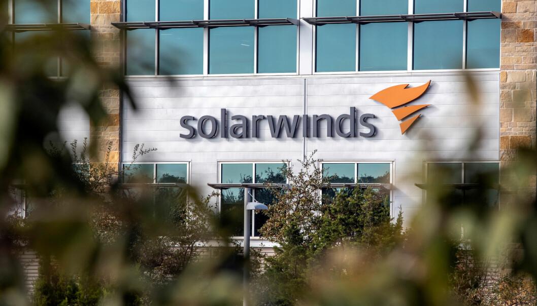 Hovedkvarteret til Solar Winds i Austin, Texas i USA.