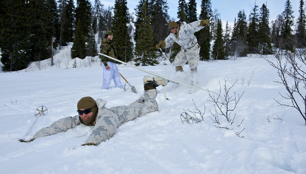 For flere av soldatene ble det en bratt læringskurve på Nato-planker.