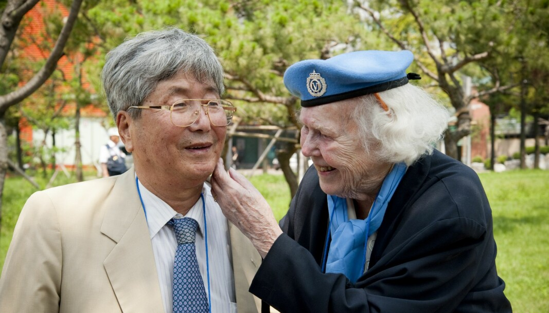Gerd Semb var sykepleier og Soon Seon Kwon var hennes pasient. De møttes igjen etter 60 år.