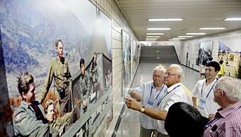 I gangtunneler under Seoul henger bilder fra Normash. Det gjorde veteranene fra Norge stolte.