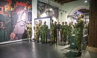 – En vei ut av uføret for Forsvarets museer