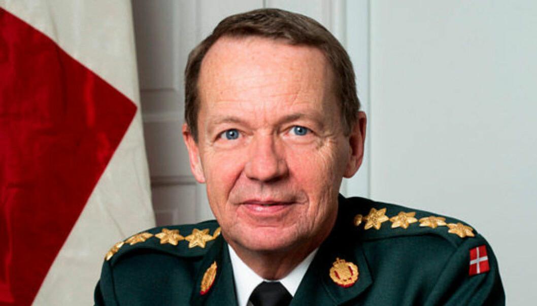 Danmarks tidligere forsvarssjef, Bjørn Bisserup.