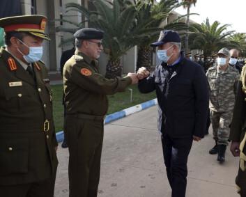Tyrkia og Egypt på symboltung Libya-visitt