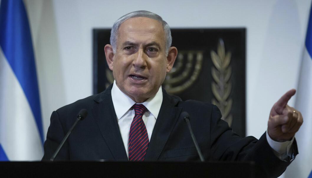 ADVARER: Israels statsminister Benjamin Netanyahu advarer mot en retur til atomavtalen med Iran fra 2015.