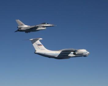 Mer russisk aktivitet nær Natos luftrom