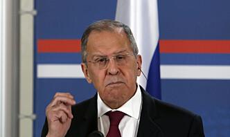 Lavrov: Tyrkia og Russland vil fortsette å utvikle militært samarbeid tross sanksjoner
