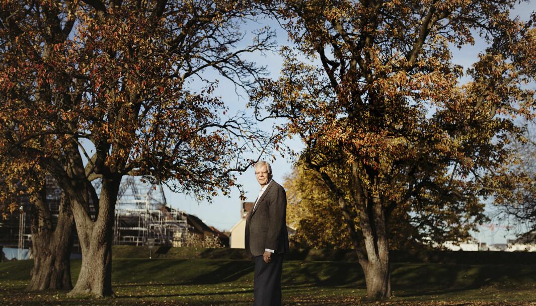31. desember går Erling Eikli av med pensjon. Han har vært i Forsvarets forum siden 1974.