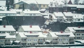 Bildet viser rasstedet på Gjerdrum.