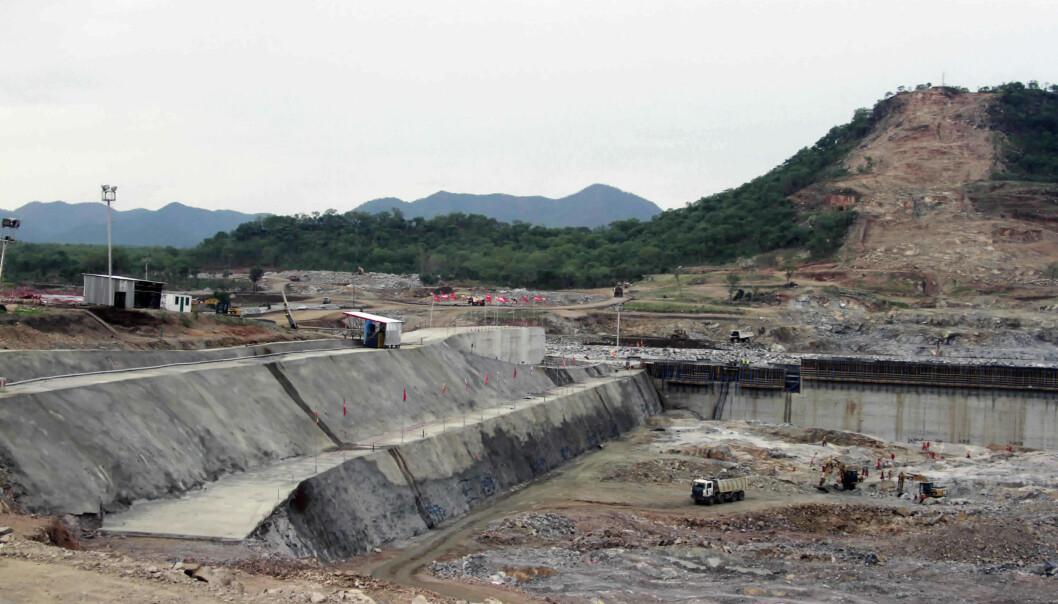 Egypt, Etiopia og Sudan har gjenopptatt den årelange forhandlingen om den kontroversielle dammen som Etiopia har bygget på Den Blå Nil. Her fra Assosa i Etiopia i 2013.