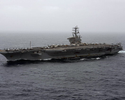 USA beholder hangarskip i Persiabukta