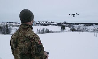 Forsvaret bidro til funn i skredområde