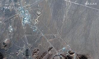 Iran sier de har anriket 120 kilo uran