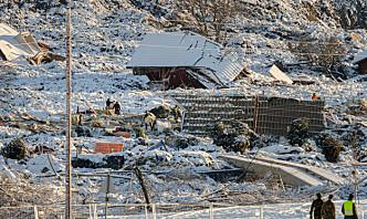 Alarm i rasområdet i Gjerdrum – politiet avventer geologenes vurdering
