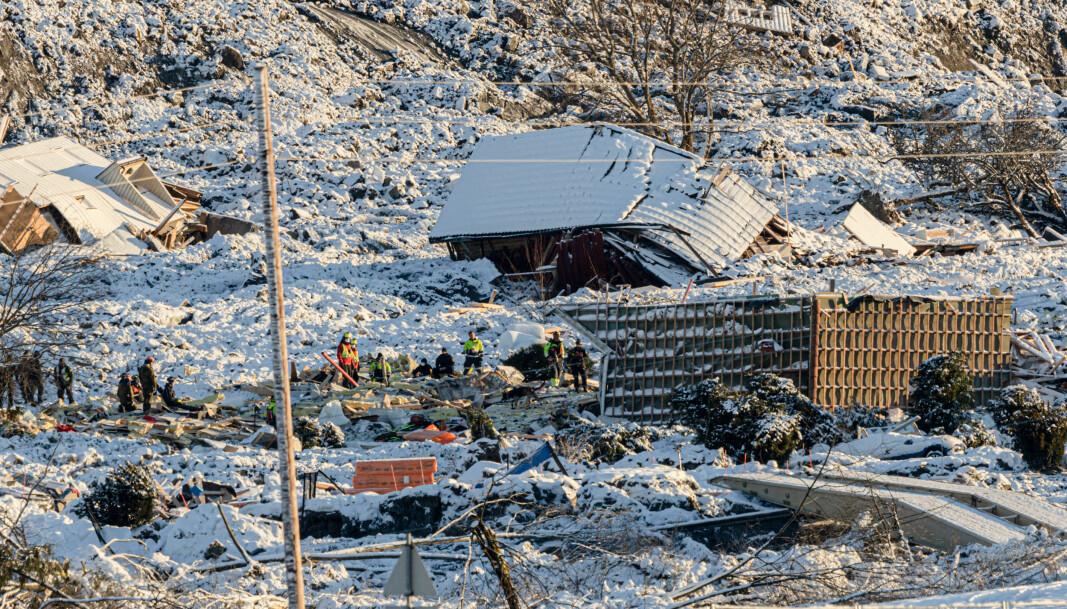 Slik ser området ut der soldater fra Ingeniørbataljonen bidrar i.