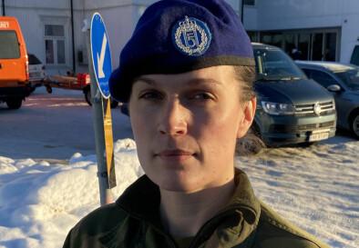Martine Klock, kaptein, kompanisjef i Ingeniørbataljonen