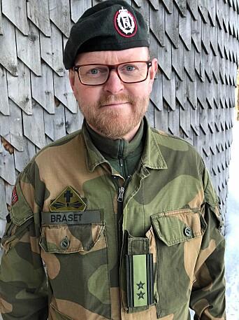 Oberstløytnant Andreas Braset er stabsprest ved Forsvarets operative hovedkvarter.