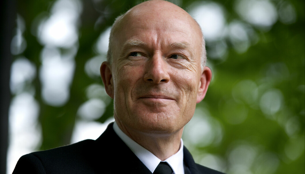 Tidligere forsvarssjef Haakon Bruun-Hanssen.