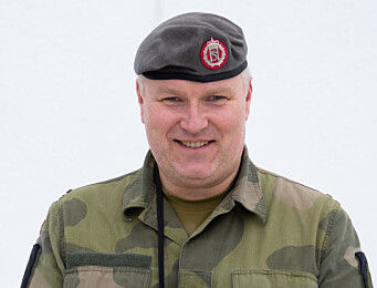 Sjefssersjant Joachim Bjørnbak.