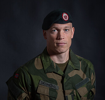 Major Eirik Skomedal.