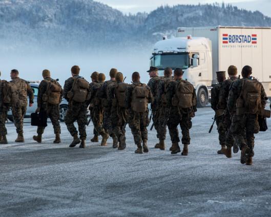 15 amerikanske soldater har testet positivt for korona