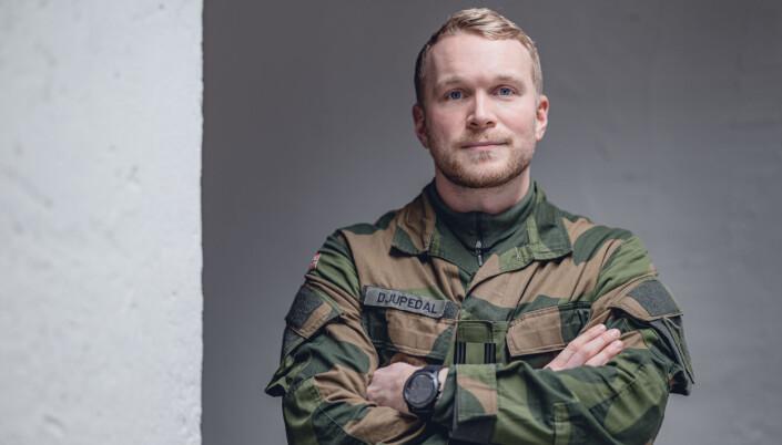 Major Sjur Djupedal ledet bidraget fra Etterretningsbataljonen.