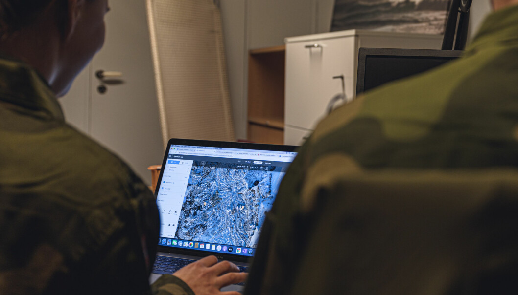 Analytikerne fra Etterretningsbataljonen fikk låne private PC-er av Heimevernssoldater.