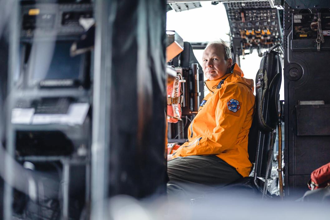 Fartøysjef Jurn Van Den Bovenkamp i 330-skvadronen forteller at flere av de som ble berget var i sjokk.