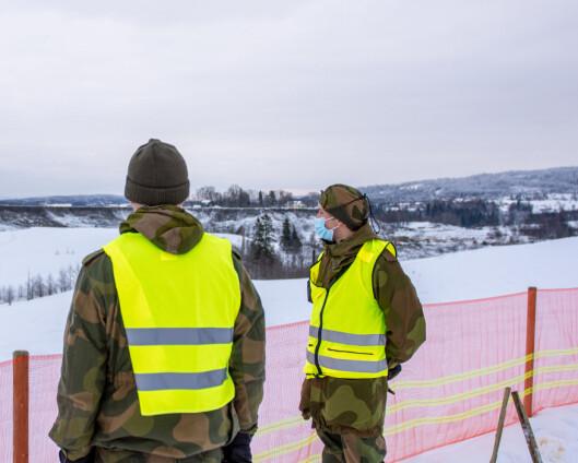 Heimevernet trekker seg ut etter 14 dagers innsats i Gjerdrum