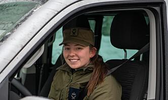 Flysoldat Kristin var på juleperm da hun ble sendt til Gjerdrum