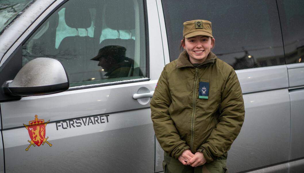 Kandal har kjørt flere ganger opp til Gjerdrum for å levre diverse materiell og utstyr til HV-soldatene.