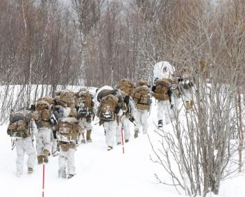 47 utenlandske soldater koronasmittet