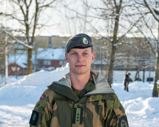 Klokka tolv tirsdag dro HV fra Gjerdrum