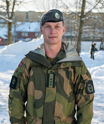 Oberst Thor Andreas Kårsten, sjef for Oslo og Akershus heimevernsdistrikt 02.