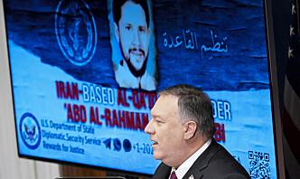 Pompeo hevder Iran er al-Qaidas nye hjem