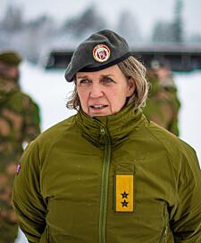Elisabeth Michelsen, generalmajor, sjef for Heimevernet
