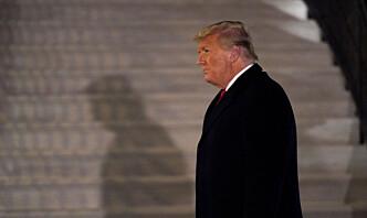 Trump ber alle amerikanere avstå fra vold