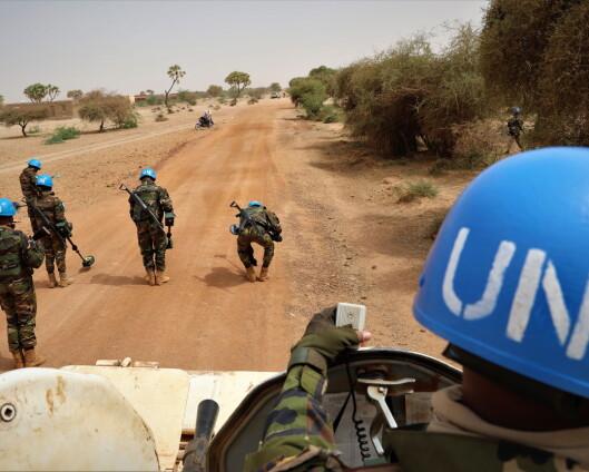 Tre FN-soldater såret i angrep i Mali