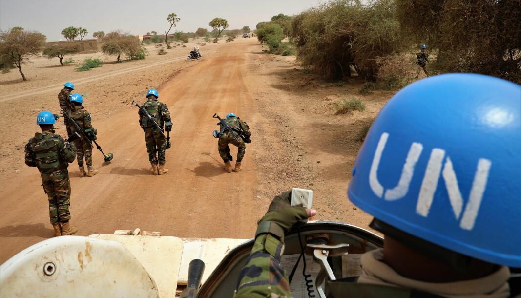 FN: De sårede soldatene var en del av FNs fredbevarende styrker i Mali.