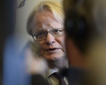 Sveriges forsvarsminister trosset reiseråd