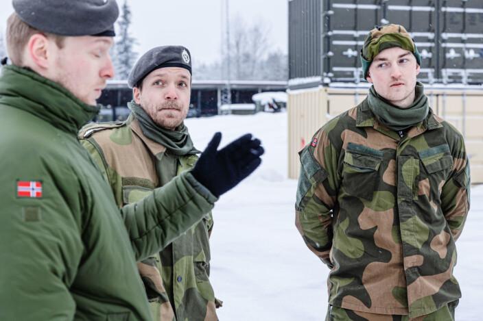 Bård Dalhaug, Lars-Erik Holte og Kristoffer Jakobsen.