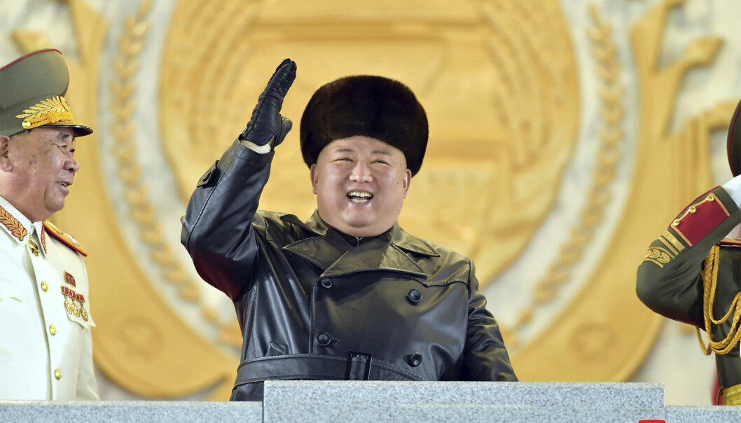 Nord-Koreas leder Kim Jong-un har brukt partikongressen til å kalle USA for landets fremste fiende og lovet nye, kraftigere våpen.
