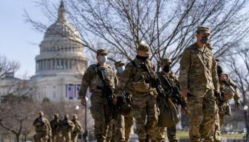 Militære blant de pågrepne etter stormingen av Kongressen