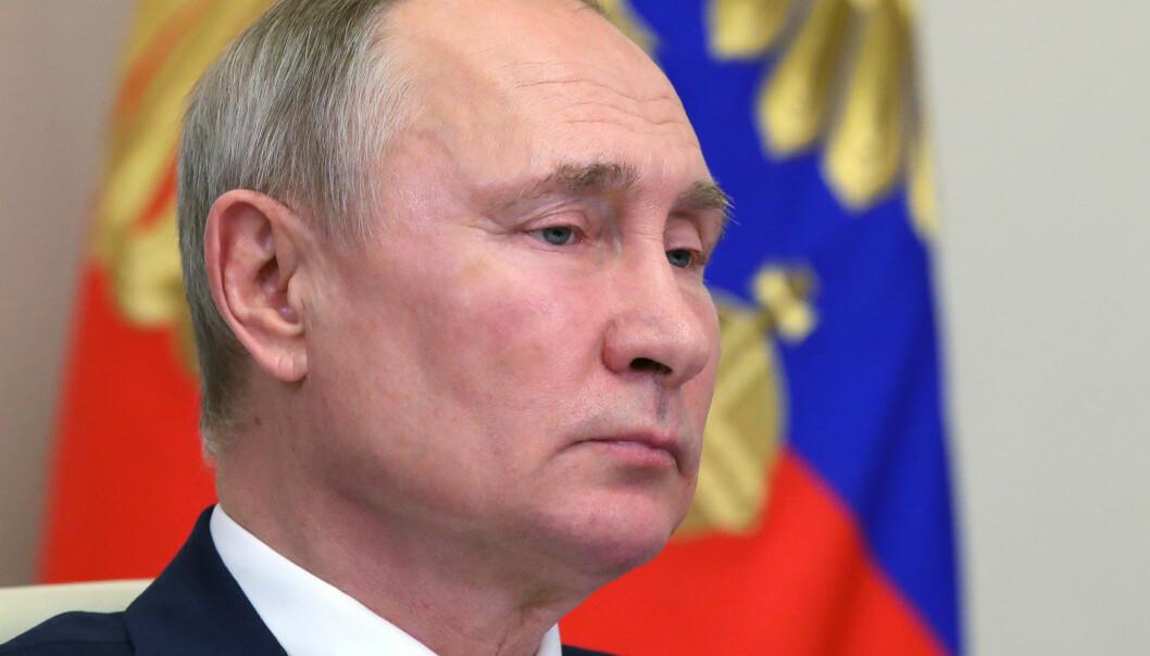 Da USA gikk ut av avtalen i november, advarte Russland og sa det ikke ville være mulig å forhandle fram en ny Open Skies-avtale. På bildet: Russlands president Vladimir Putin.