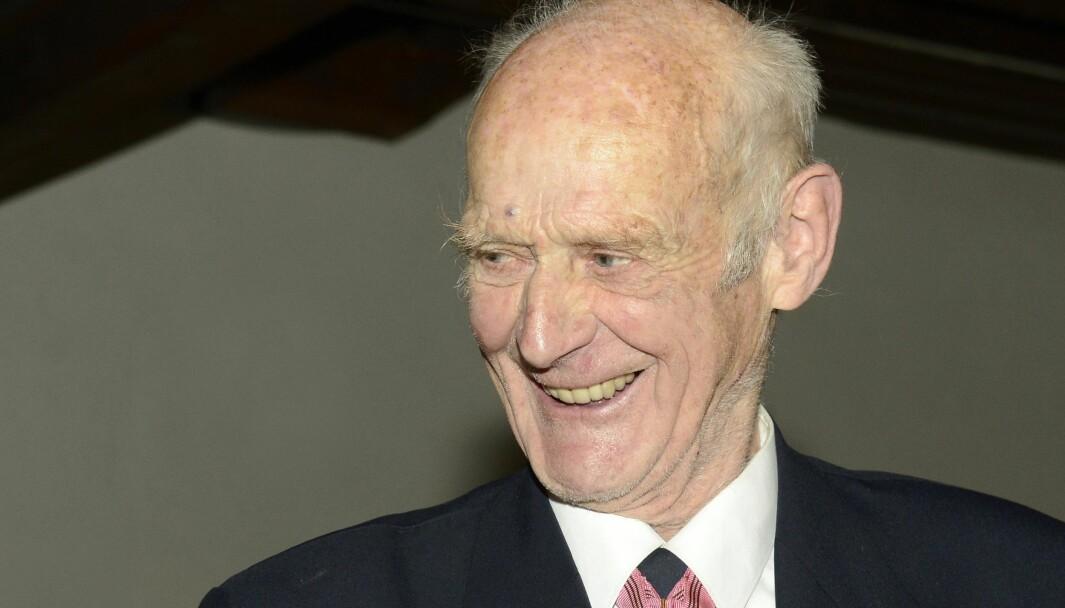 Nils Egelien var sterkt engasjert i Korea-veteranenes sak.