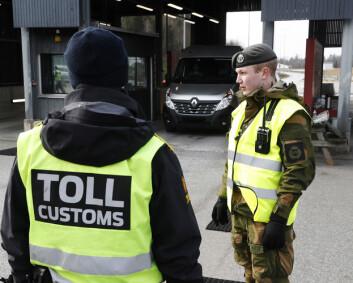 Hæren skal bistå med koronatesting på Svinesund