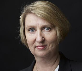 Mette Sørfonden, direktør for Forsvarsmateriell.