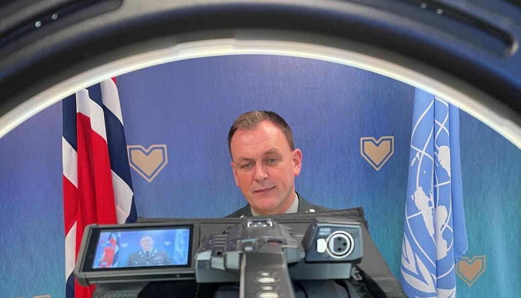 Oberst Kåre Brændeland på plass i Militærkomiteen til FNs sikkerhetsråd