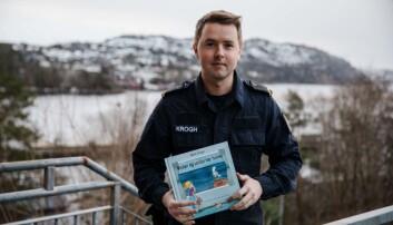 Martin Krogh er skipssjersjant og har nå skrevet bok.